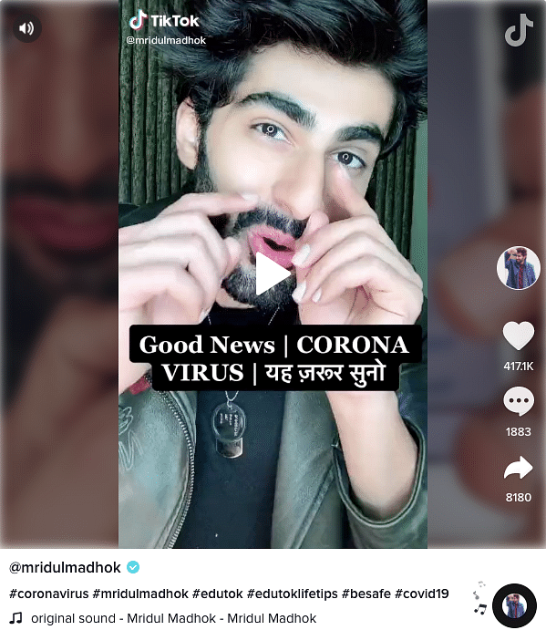 How  TikTok Influencers Are Fuelling Fake News on COVID-19