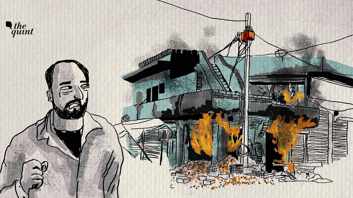 On the main road as you enter violence-torn Chand Bagh in northeast Delhi is a charred one-storey home that belongs to Muhammad Azaad.