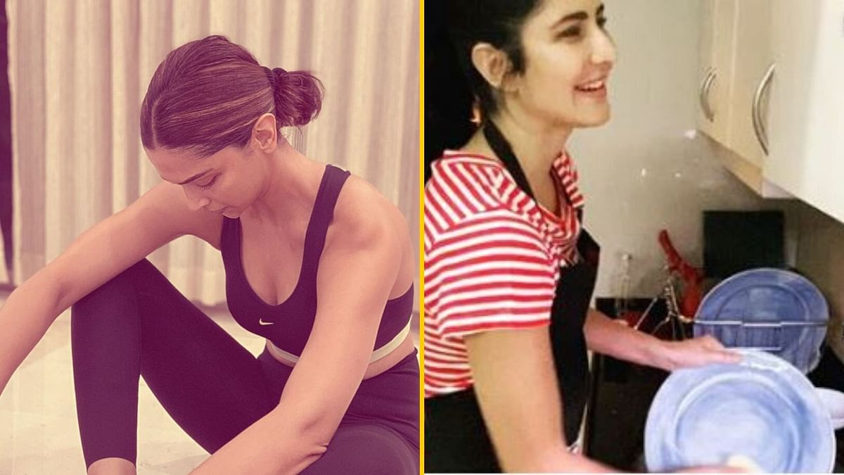 This is How Deepika, Katrina Spent Their Day in Self-Isolation