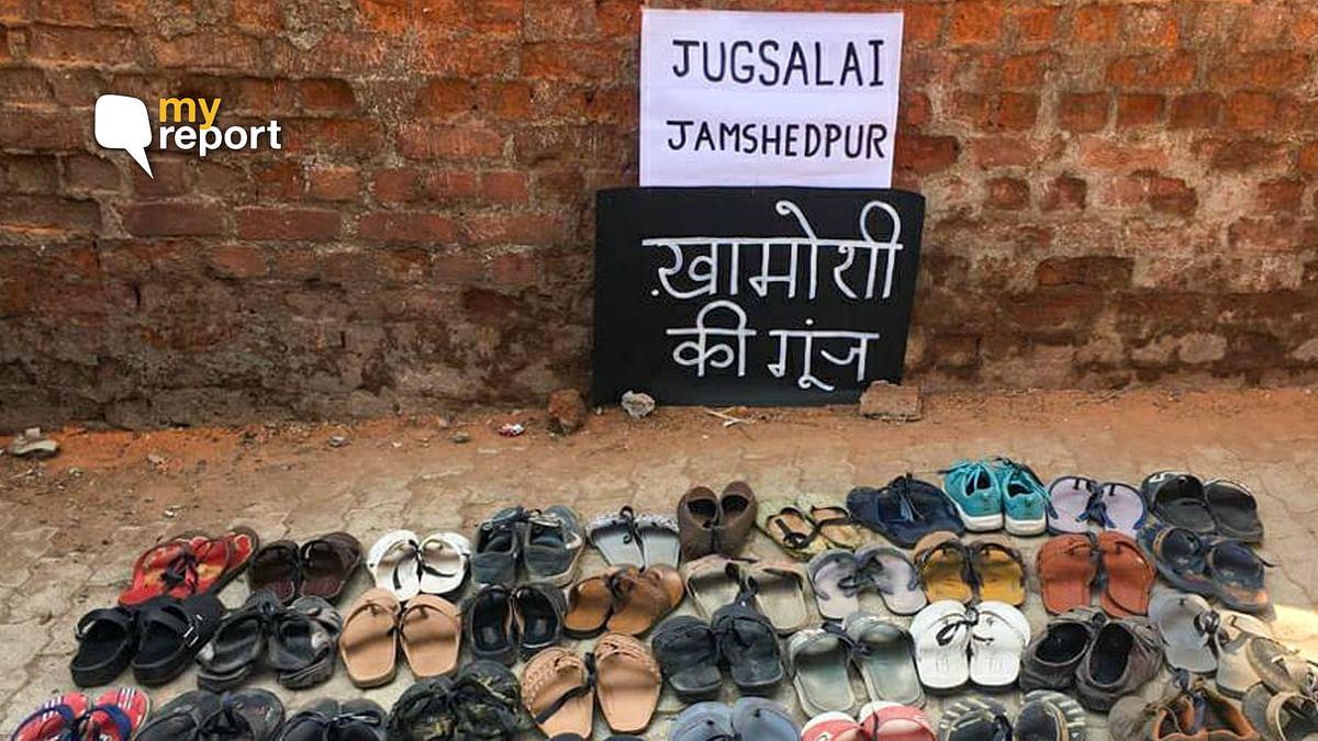 Despite Sec 144 in Jamshedpur, We Let Our Shoes Protest For Us