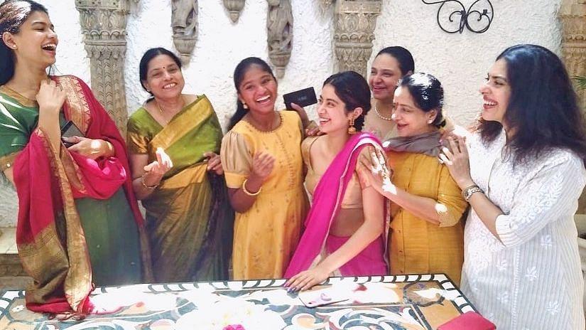 Janhvi Kapoor Attends Sridevi's Prayer Meet in Chennai