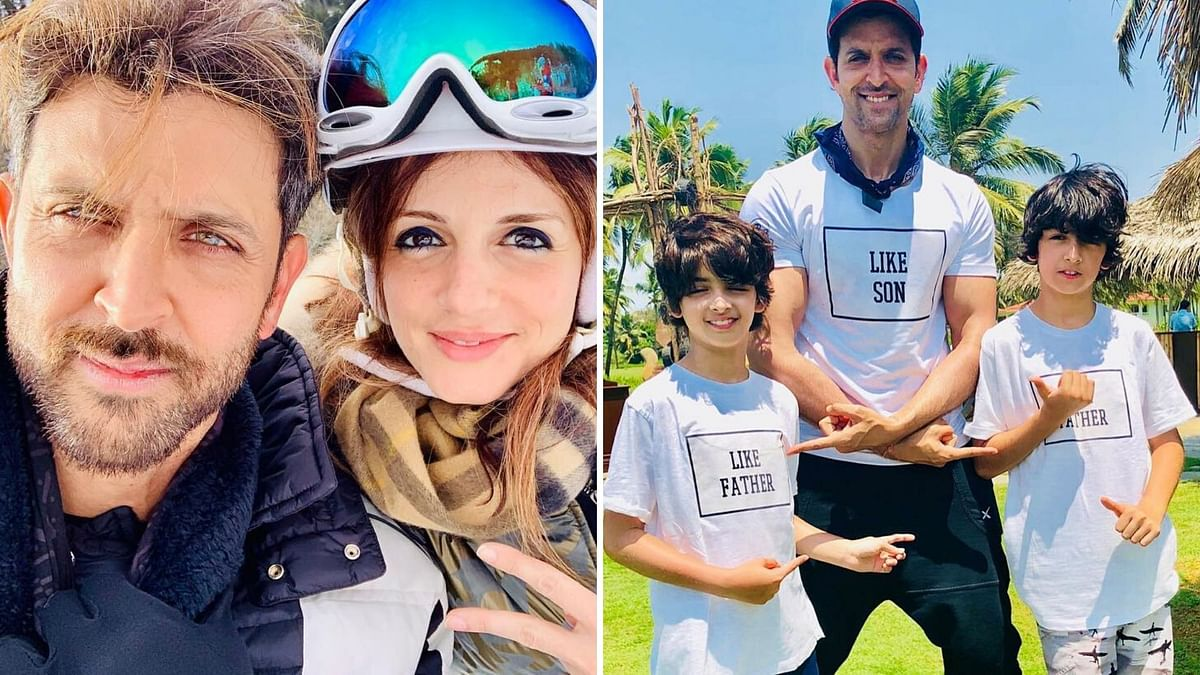 Hrithik Thanks Sussanne for Reuniting Family During Corona Crisis