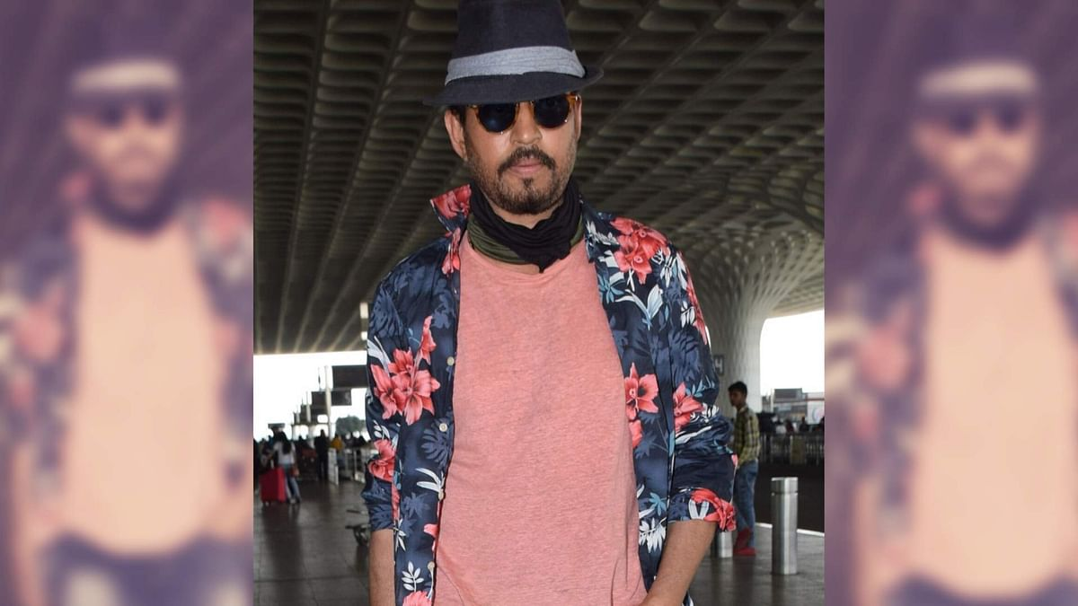 Irrfan Khan returns to India after seeking cancer treatment in London.