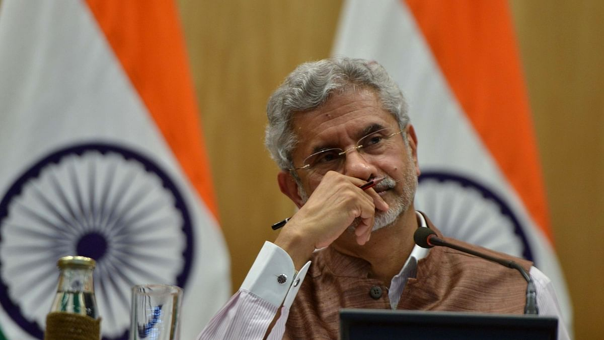 FIle image of Minister of External Affairs S Jaishankar.