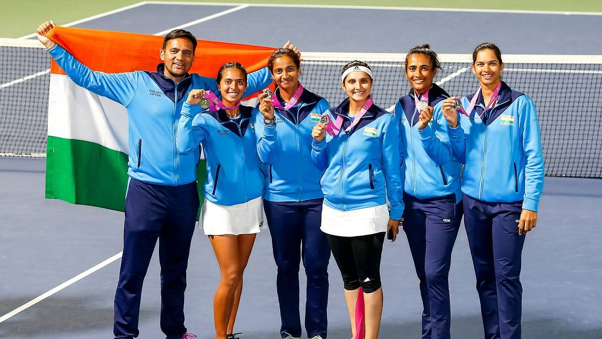 Fed Cup: Ankita Shines with Two Wins to Take India in Play-offs