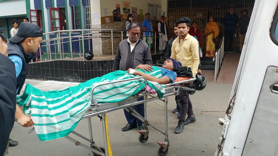The injured are being treated at the Shillong Civil Hospital.