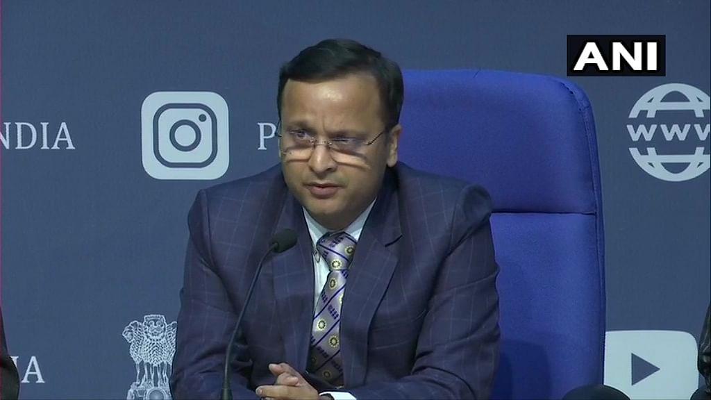 Lav Agarwal, Joint Secretary, Union Health Ministry.