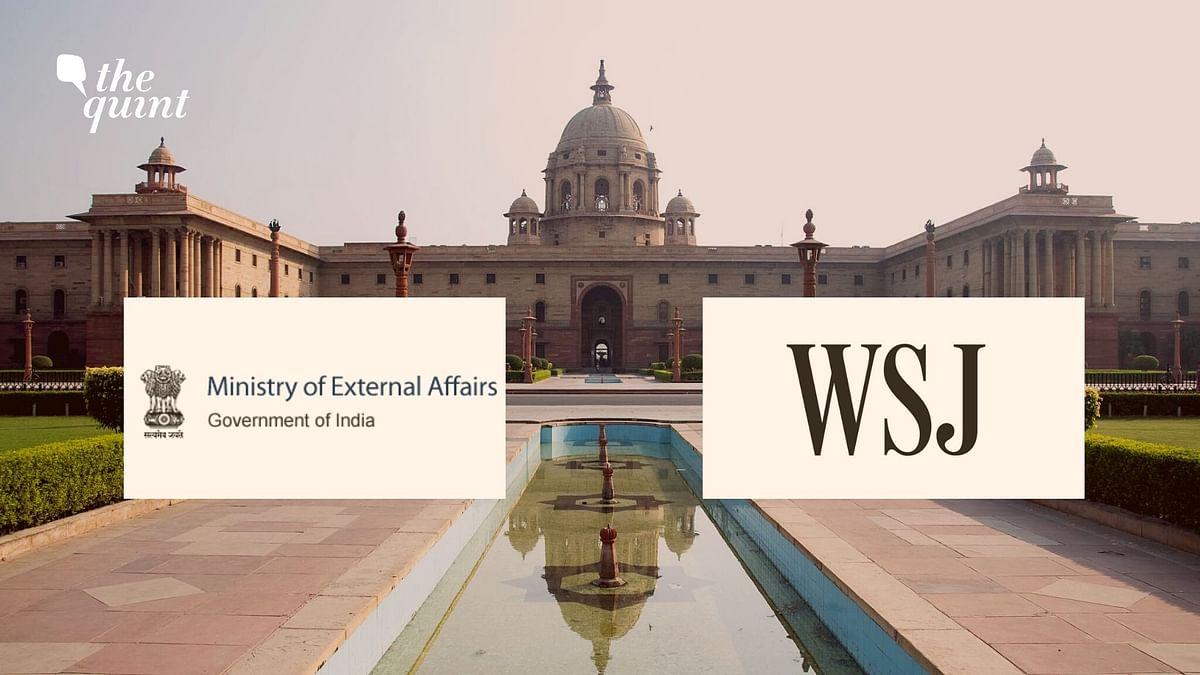 India to Look Into Complaint Seeking WSJ Journalist's Deportation