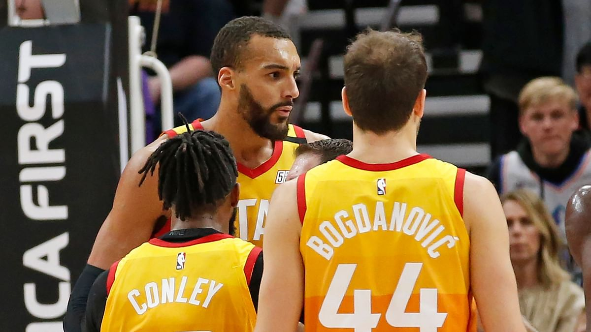 Utah Jazz center Rudy Gobert has tested positive for Coronavirus.