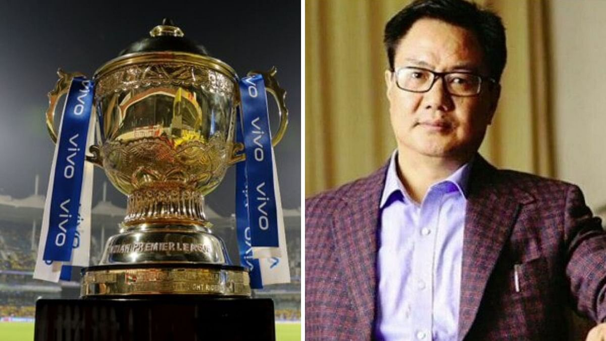 Fate of IPL 2020 Can Only be Decided After 15 April: Kiren Rijiju