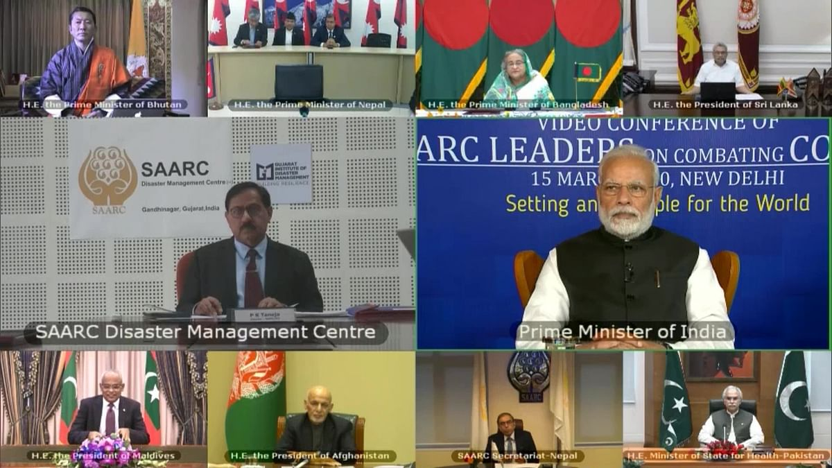 PM Modi Proposes SAARC Fund, Stresses Joint Effort on COVID-19