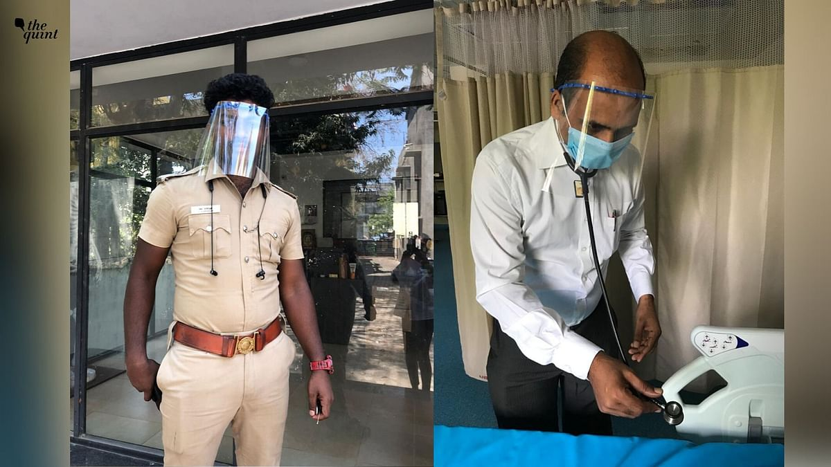 COVID-19: IIT-M 3D Prints Face Shields to Counter PPE Shortage