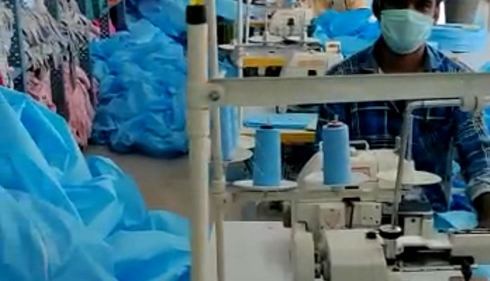 Over 100 factories have now switched to the production of masks and personal protective equipment (PPE).