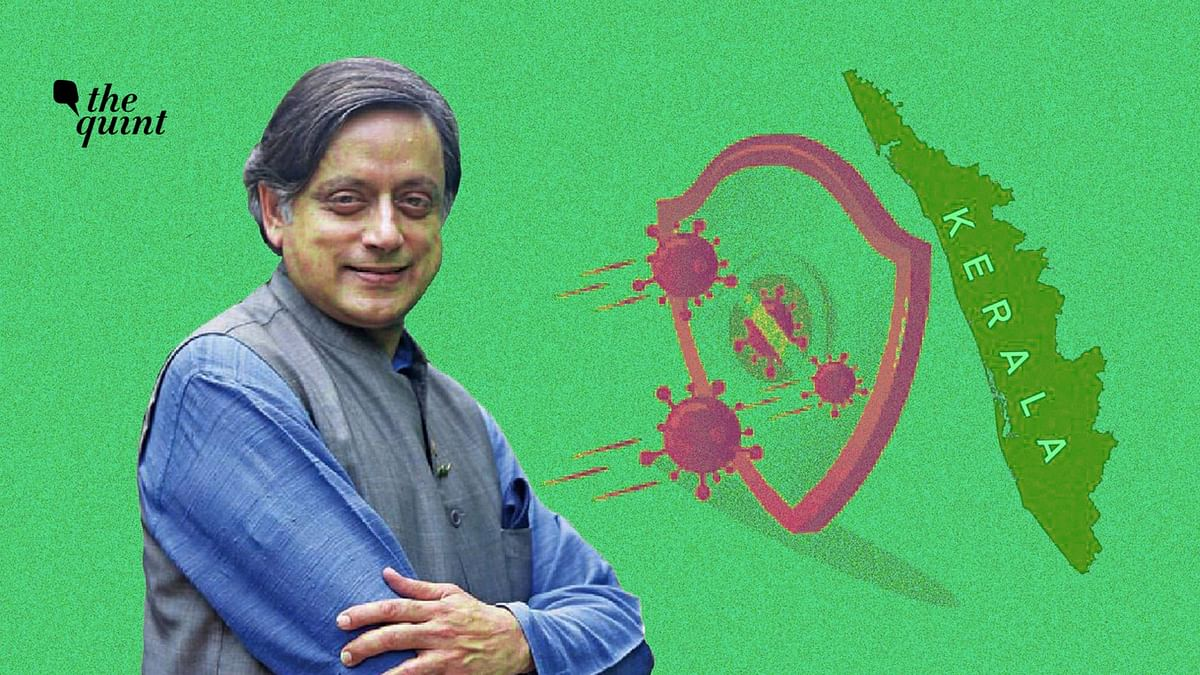 Though I am a political opponent of Kerala government, I am pleased to acknowledge their good work: Shashi Tharoor