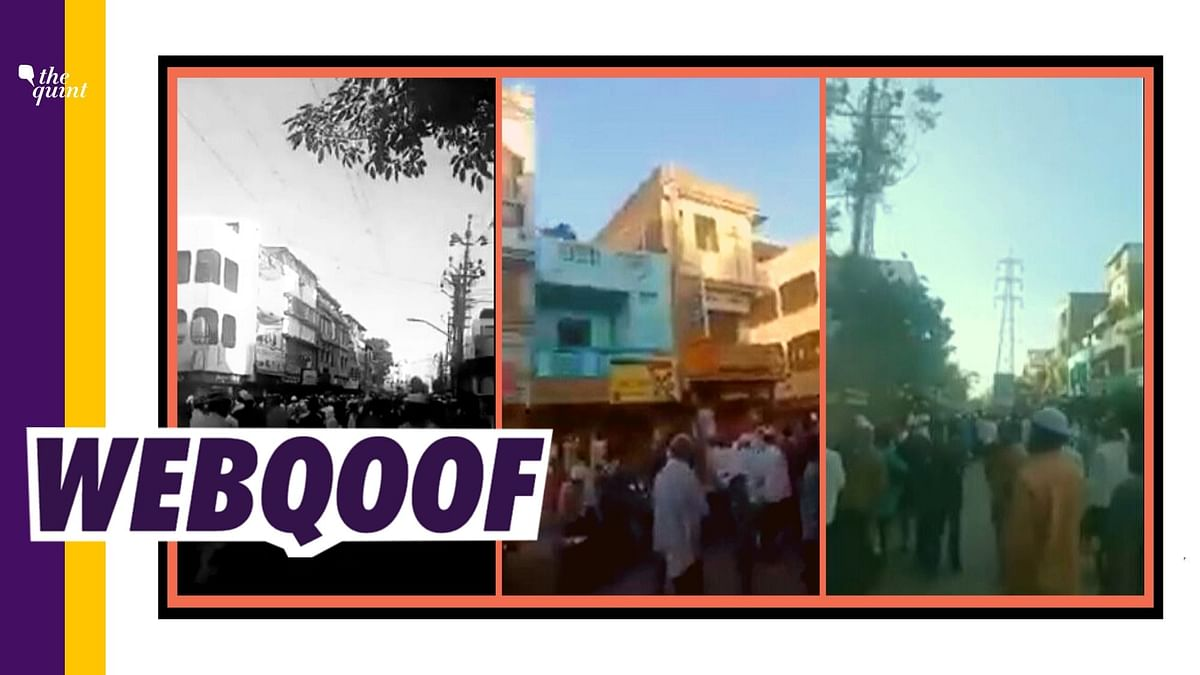Surat Video Viral As 'People Gathering Near Mosque in Delhi'