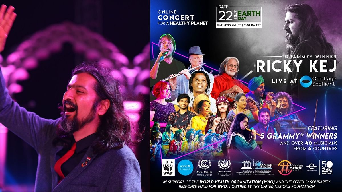 Grammy Winning Musician Ricky Kej's Concert for Earth Day