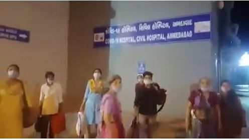 6-Hr Wait, SOS Video For 25 Corona Patients to Get Admitted in Guj