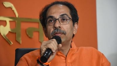 File photo of Shiv Sena chief and Maharashtra CM Uddhav Thackeray.