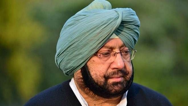 File image of Punjab Chief Minister Captain Amarinder Singh.