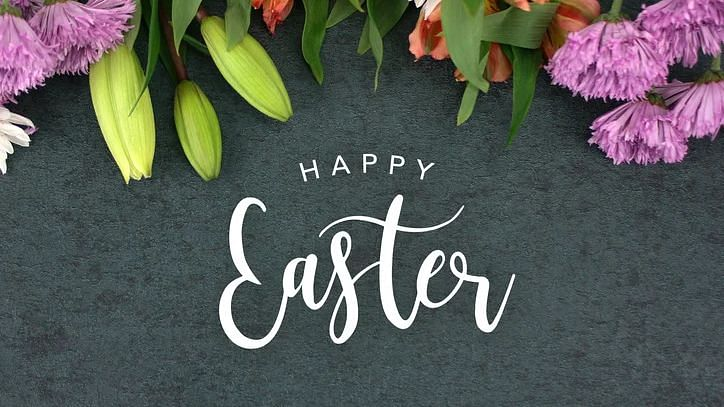 Happy Easter 2021 Quotes and Images in English and Hindi. Easter egg  greetings and messages to your loved ones through WhatsApp, Facebook,  Instagram and Twitter