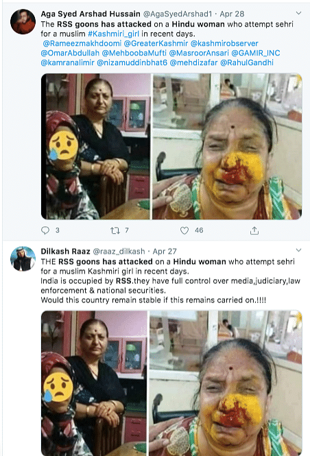 No, a Hindu Woman Wasn't Attacked for Making Sehri for Muslim Girl