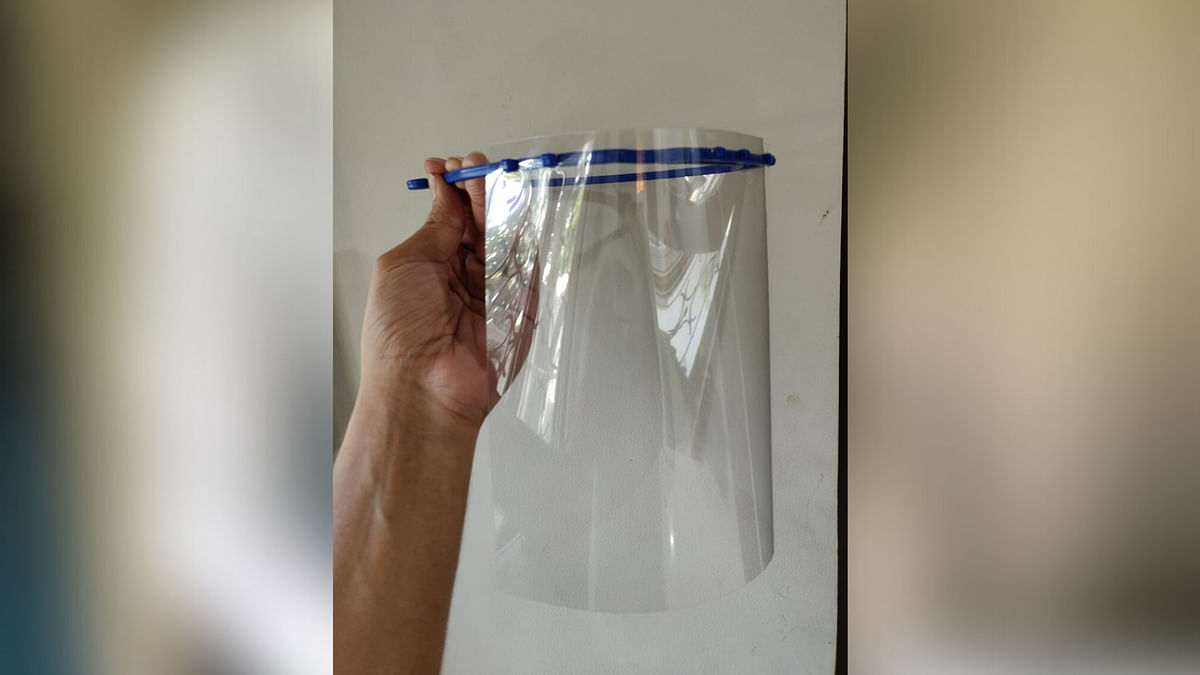 The cost of the face shield is Rs 100.