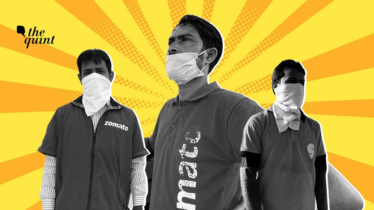 Lockdown Heroes: Meet the Delivery Agents Ensuring We Get Our Food