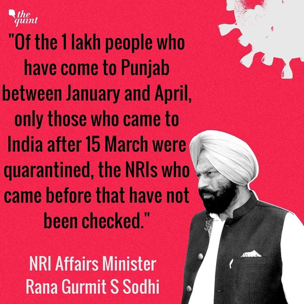 Around 2,000 NRIs Yet to Register With Police: Punjab NRI Minister