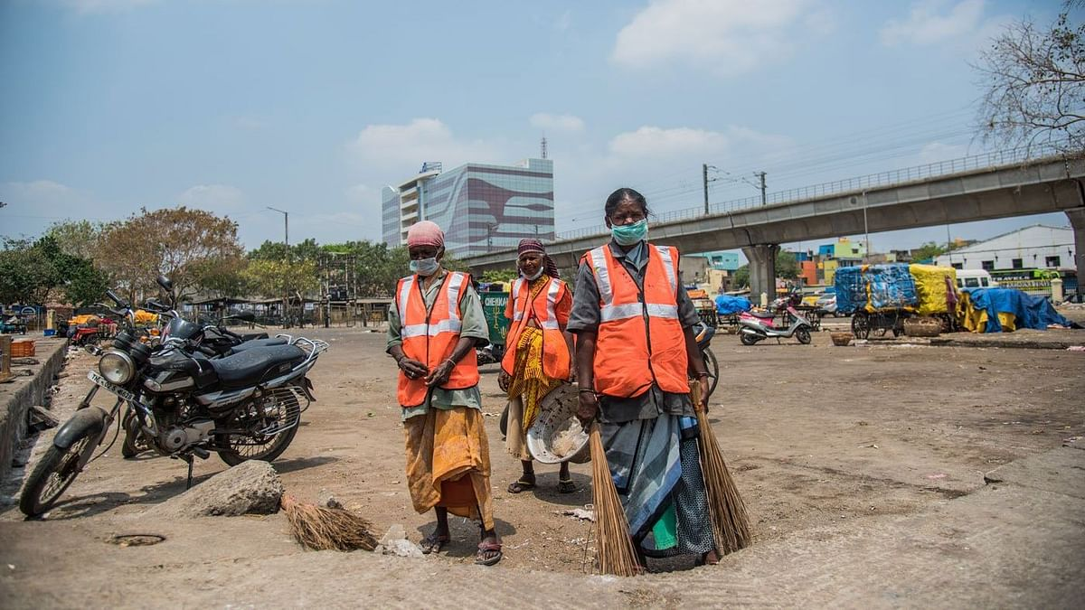 Telangana Sanitation Worker Donates Two Months' Salary to CM Fund