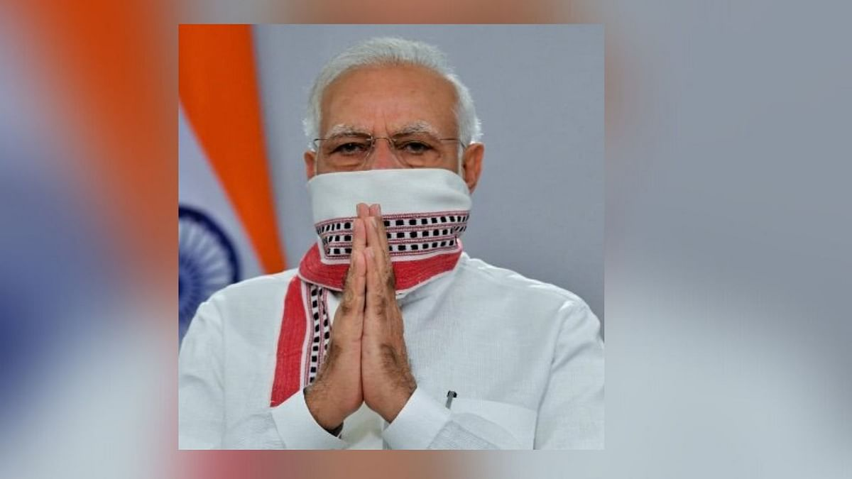 Prime Minister Narendra Modi has changed his Twitter display picture.