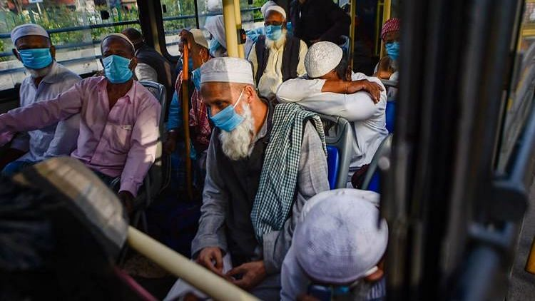 File image of Tablighi Jamaat attendees being taken to hospitals for coronavirus testing. (Representational image only.)