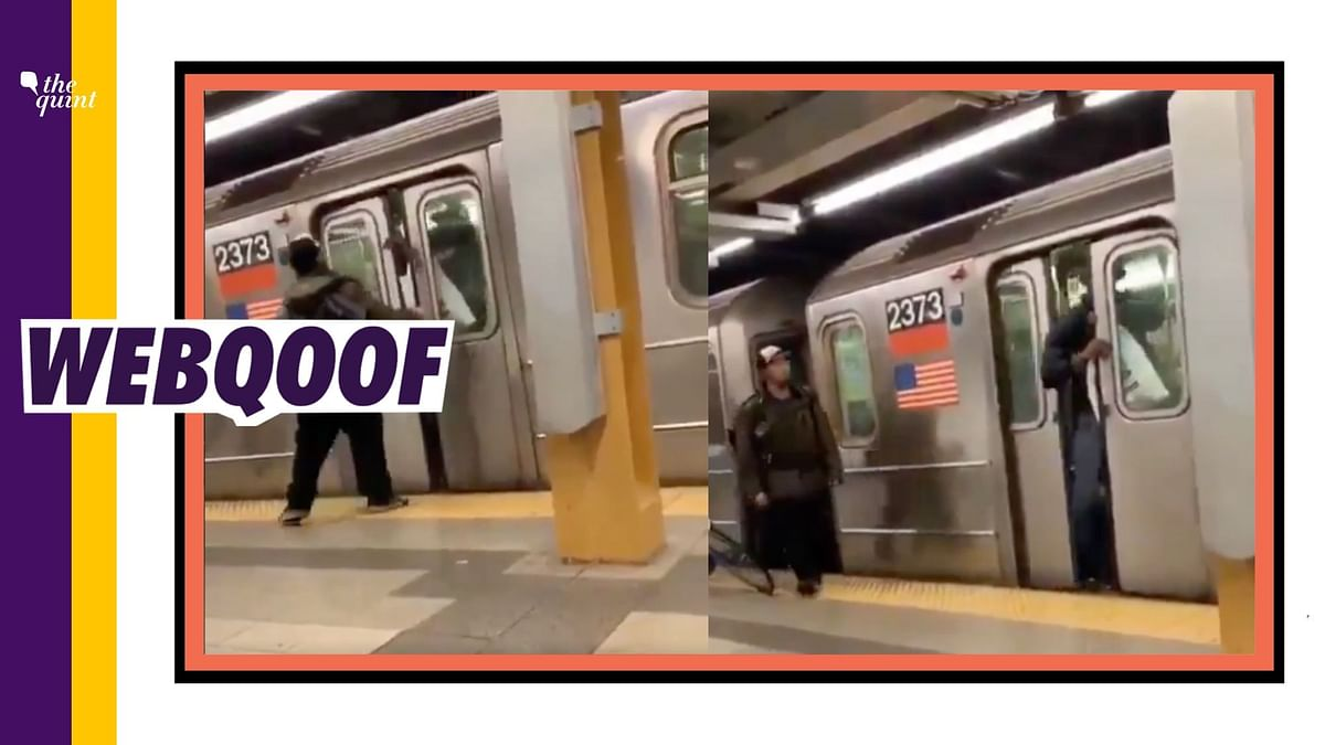 Video of Man Spitting at Subway Rider Falsely Linked to COVID-19