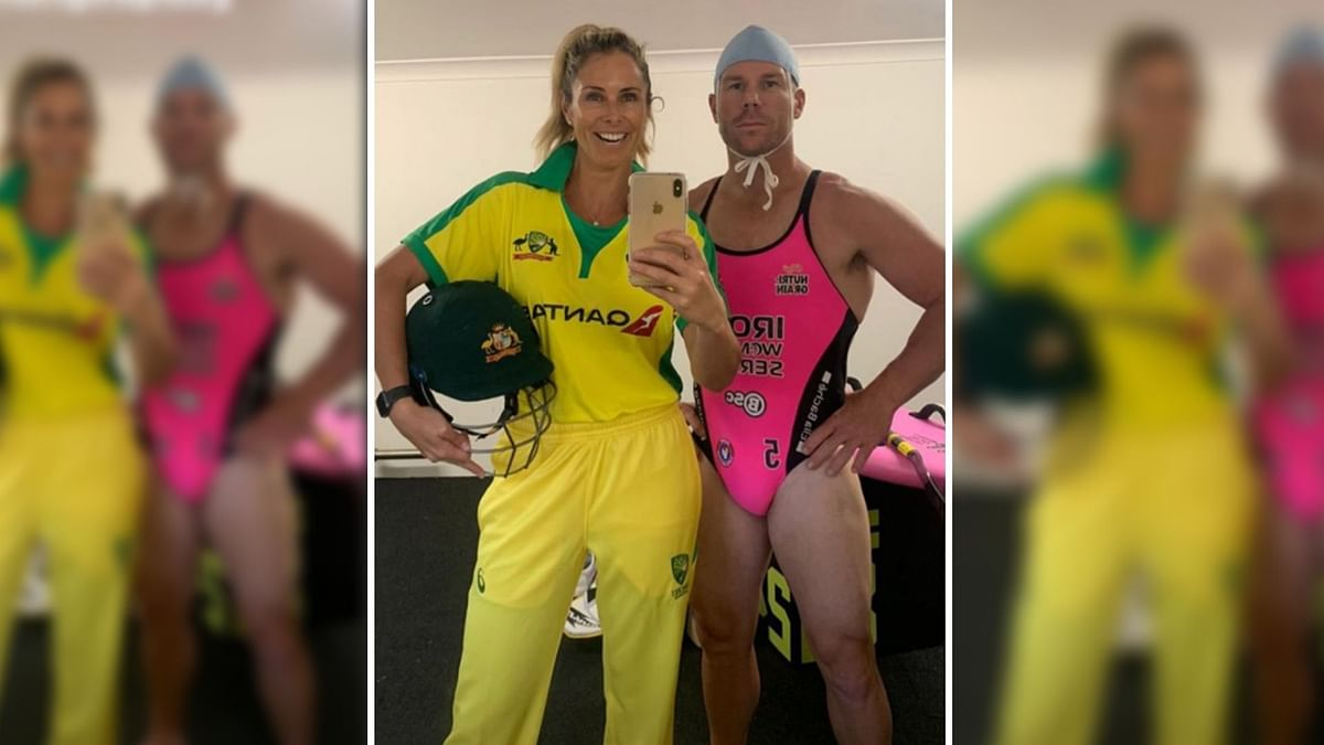 David Warner & Wife Candice Win Internet With 'FlipTheSwitch' Post