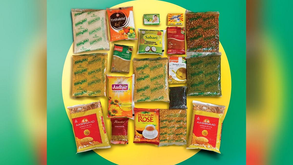 The survival food kit.