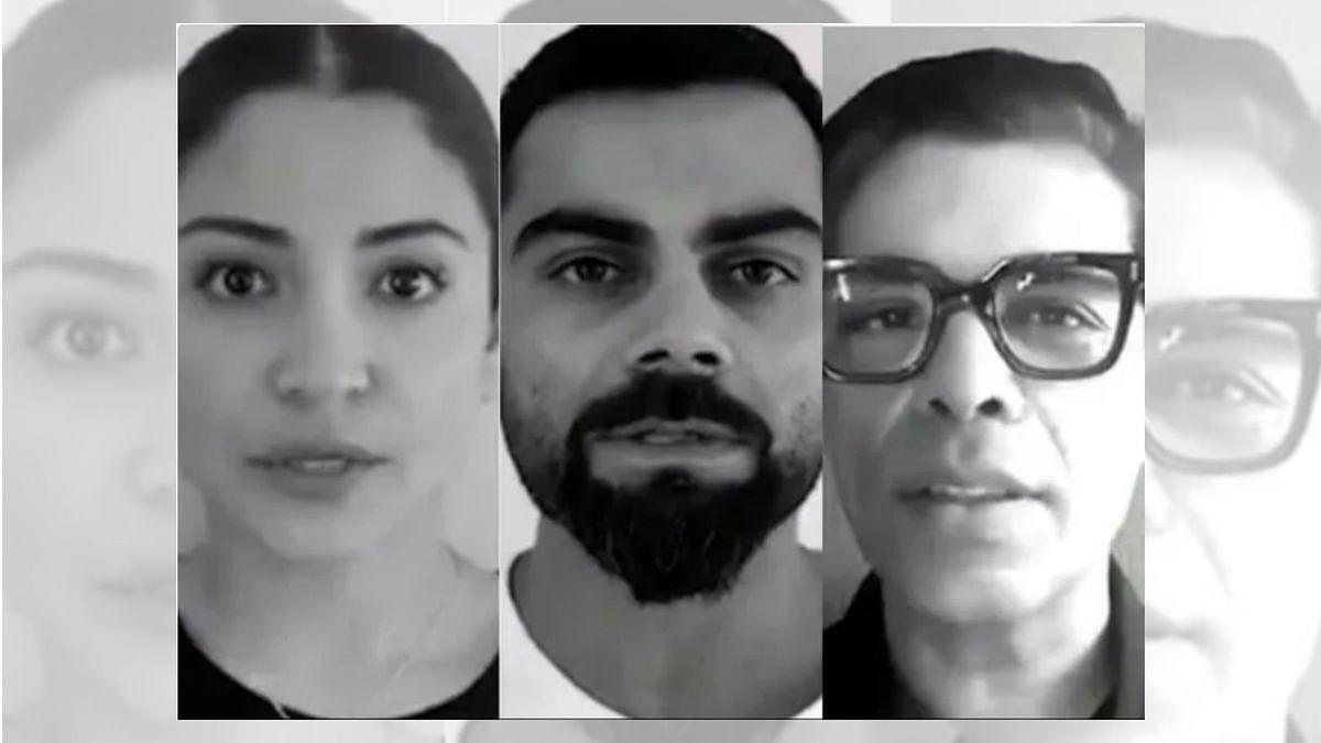 Put Lockdown on Domestic Abuse: Virat, Anushka, Karan Johar Appeal