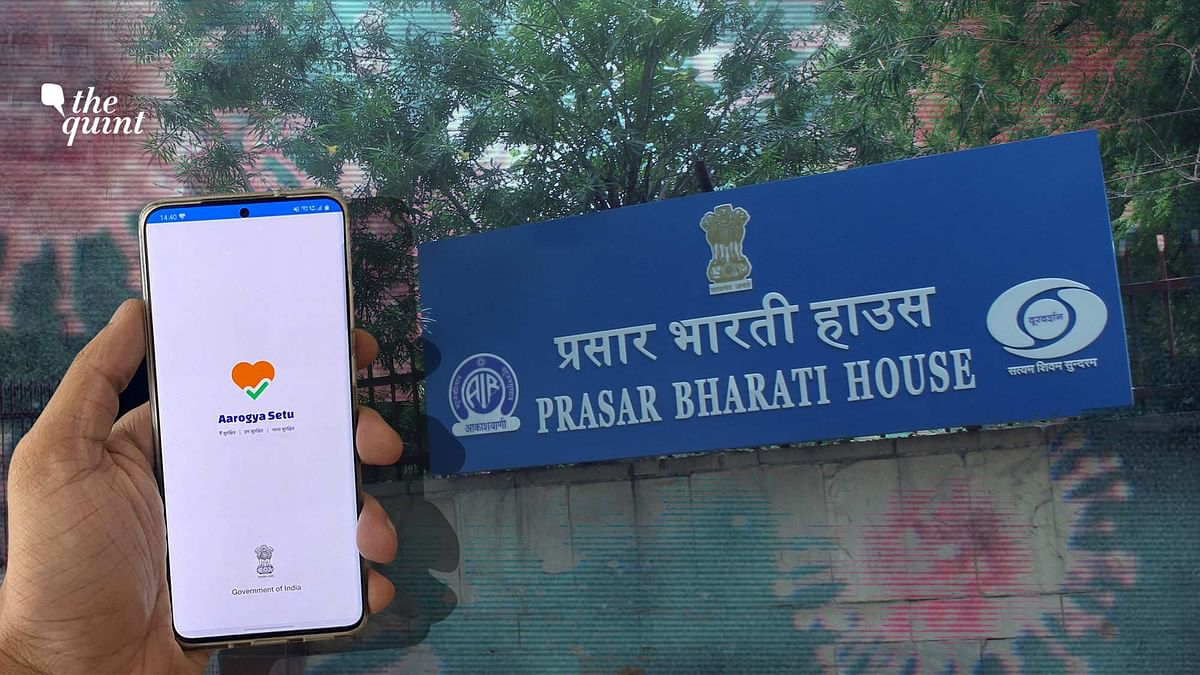 Prasar Bharati Makes Aarogya Setu Installation Mandatory for Staff