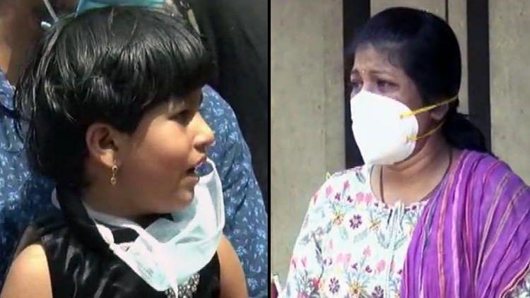 Little Aishwarya had not seen her mother Sugandha Korikoppa for 15 days.