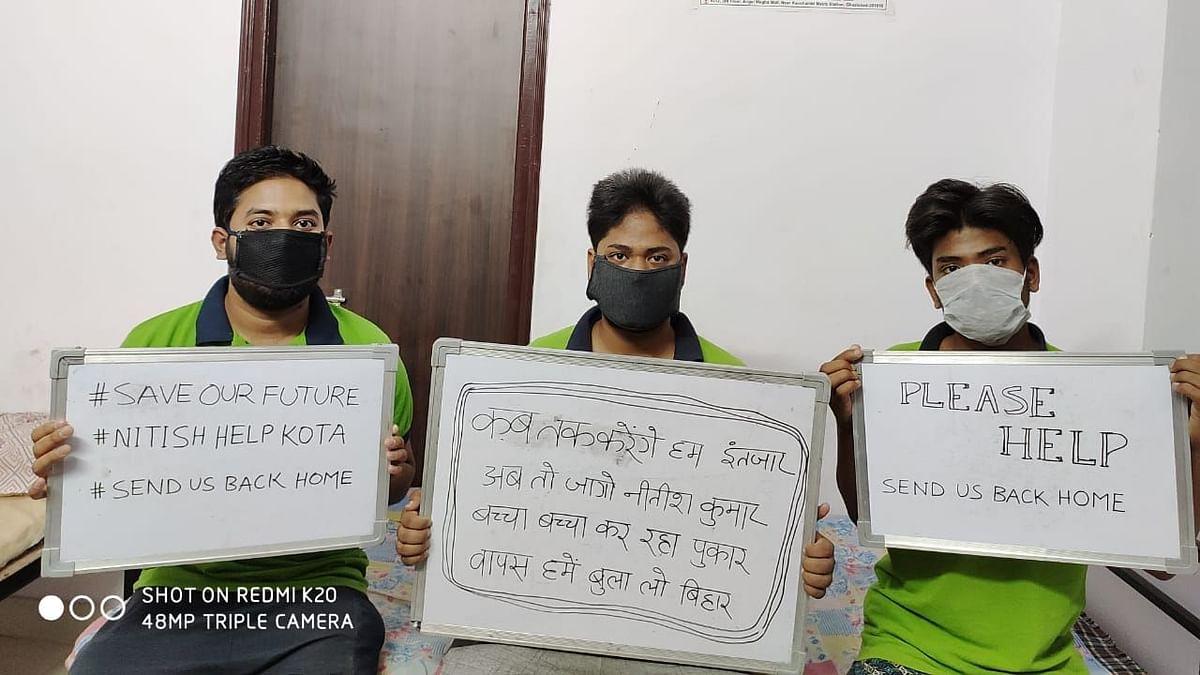 Please Evacuate Us: Bihar Students Stranded in Kota Appeal to CM