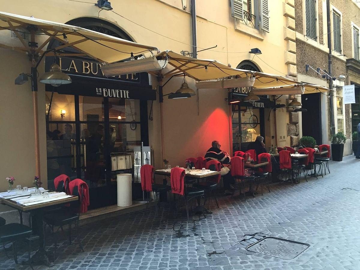 Image of La Buvette, the author's favourite restaurant.