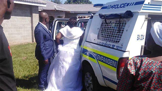 Bride & Groom Arrested in South Africa for Wedding During Lockdown