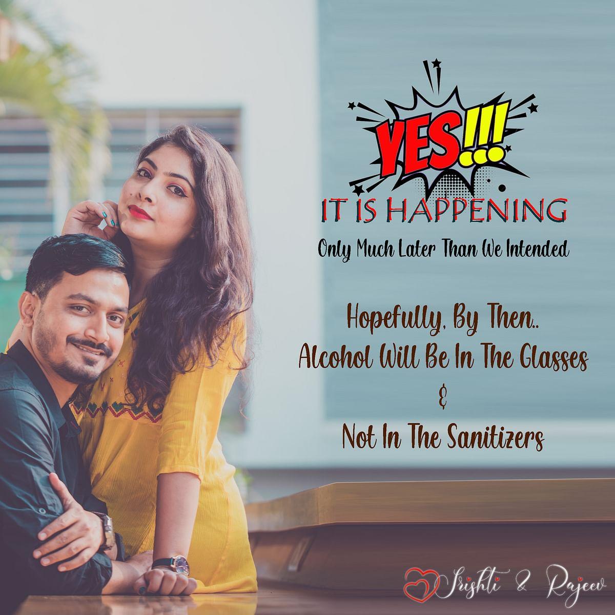 Srishti's wedding postponement announcement