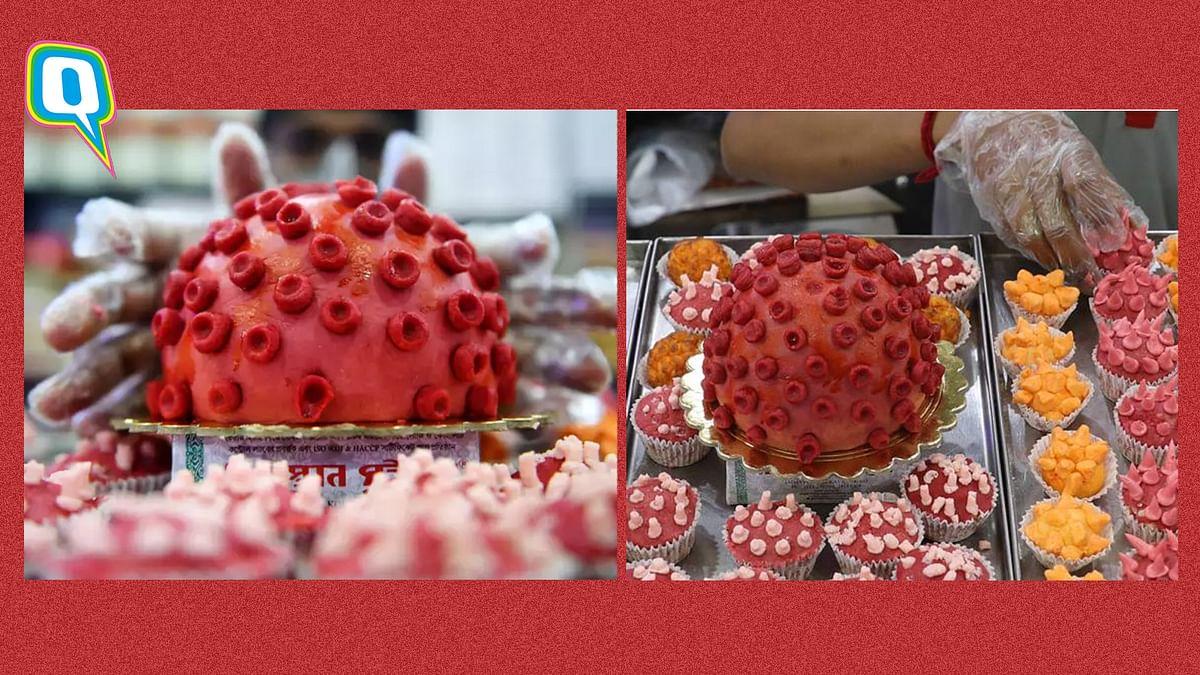This Kolkata Sweet Shop  Has  Corona 'Sandesh' For You