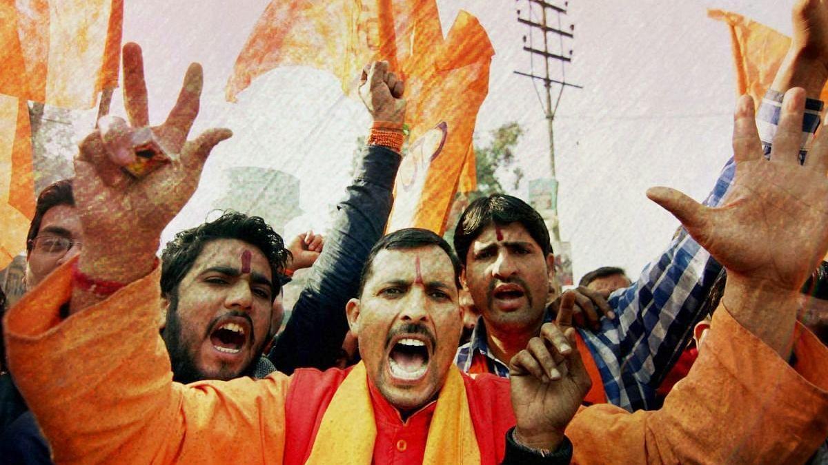 Bihar: Bajrang Dal Men Booked for Planting Saffron Flags on Shops