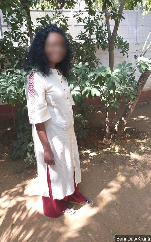 Pinky, 41, suffers from HIV/AIDS and ran out of medicines on 6 April. With no customers because of the lockdown, she says she has no money to buy medicines.
