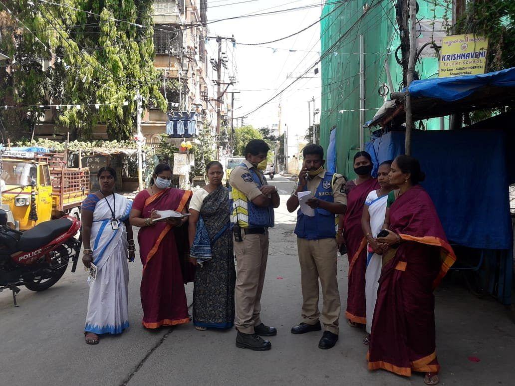 ASHA workers in Telangana.