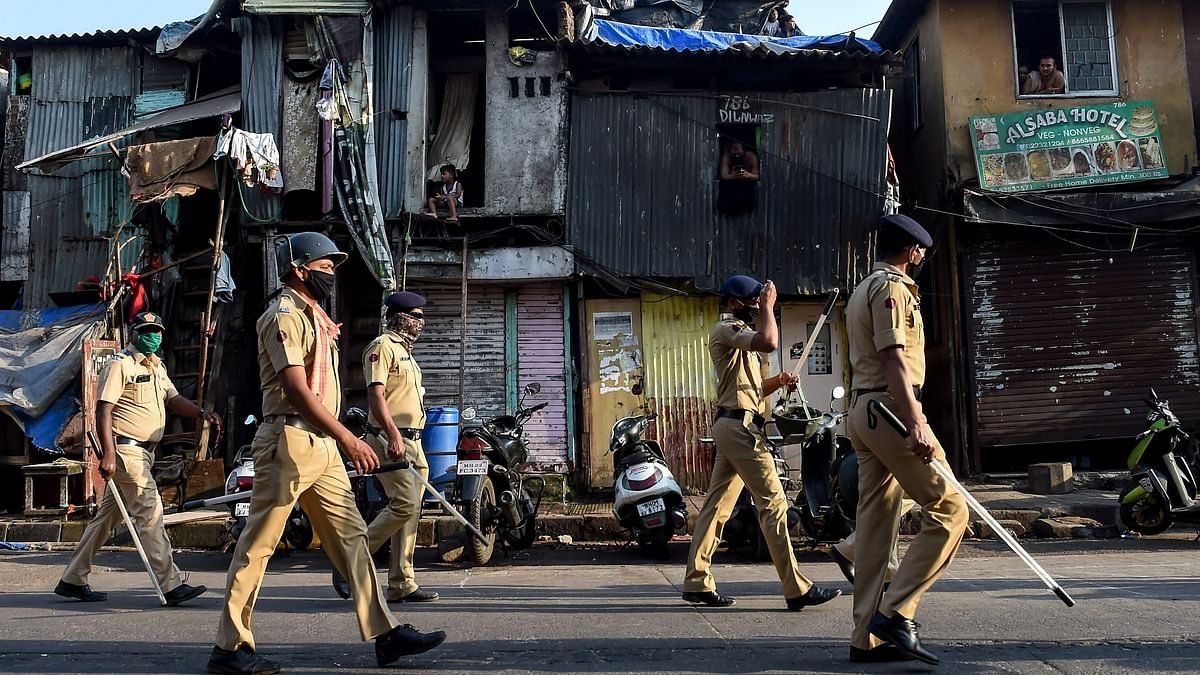 COVID-19 Takes a Toll on Mumbai Police: 38 Dead, 2,800 Infected