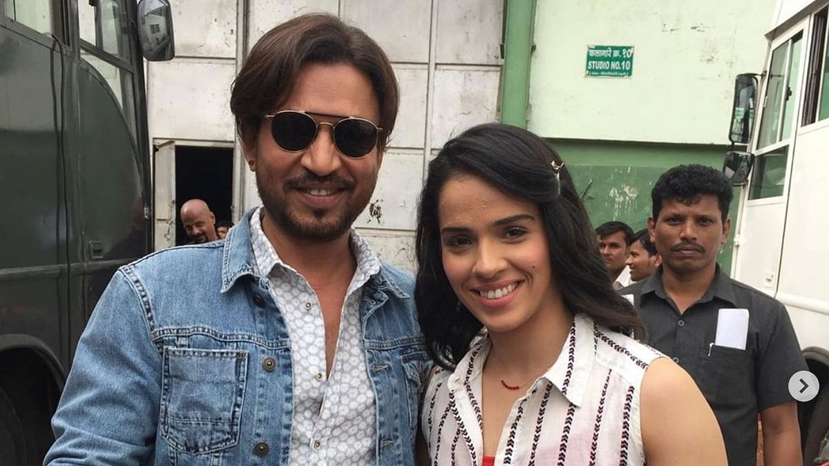 Saina Reminisces When Irrfan Khan Helped Her 'Act So Easily'