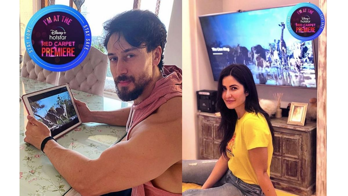 Hrithik, Tiger, Katrina Kaif Share Pics of Watching The Lion King