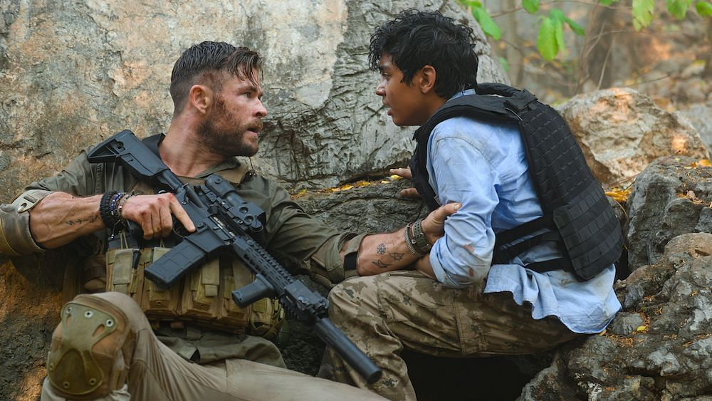 Extraction: Hemsworth and Hooda Make this All Out Action Film Work