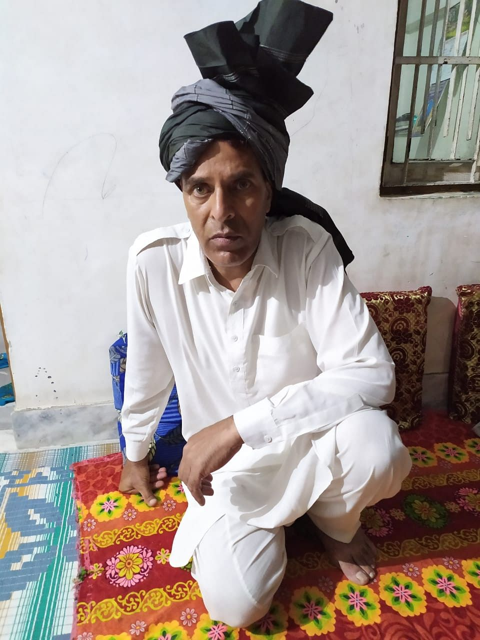 Nazakat Khatana, president of the Gujjar Bakarwal Desh Tehreek-E-Insaaf, has been visitng these Gujjar Bakarwals. He says not only are they running out of ration but the administration has made the procedure of migrating a lot more complicated for the tribals.